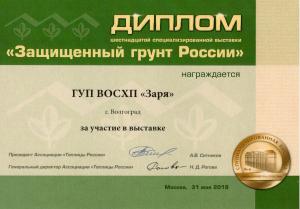 Защищенный грунт России